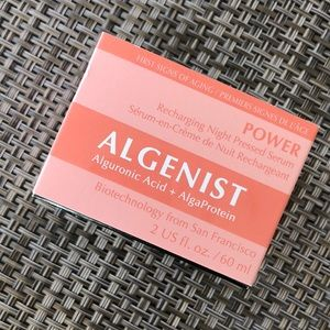 algenist Makeup - Algenist Power Recharging Night Pressed Serum